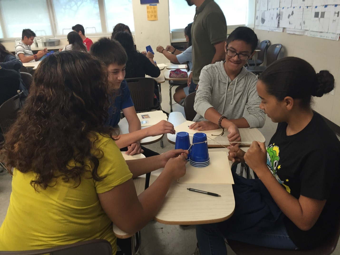 "New Works"" Math Class Bridges Gap for Sweetwater Freshmen"